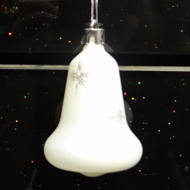 新しいデザインクリスマスフラット装飾品雪が降るアクリルクリスマス鐘-その他イベント、パーティー用品問屋・仕入れ・卸・卸売り