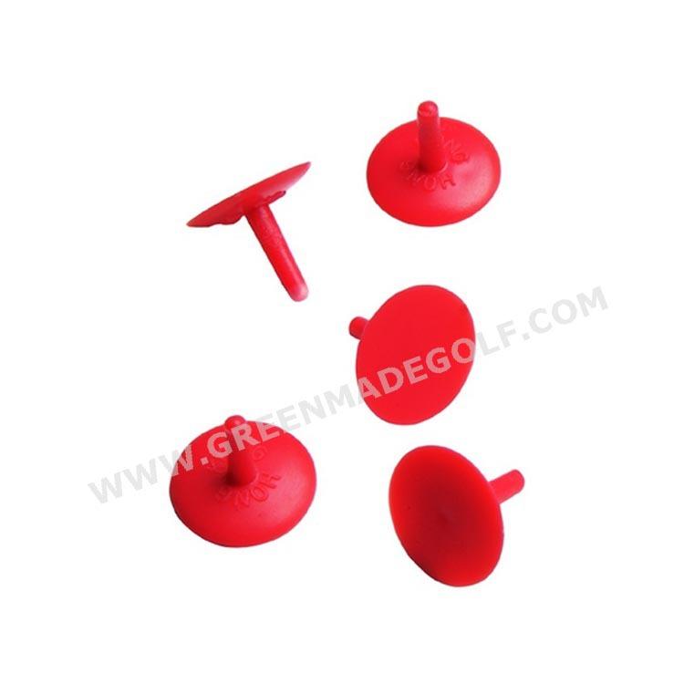 一意のゴルフボール19mm赤い色は、 プラスチック製のマーカー-その他ゴルフ用品問屋・仕入れ・卸・卸売り