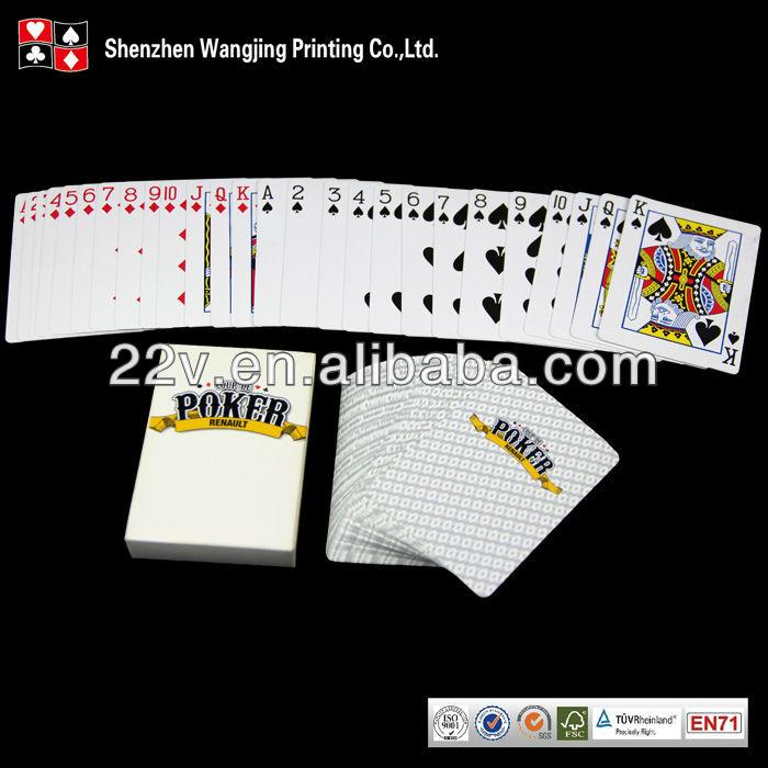 黒コア紙トランプ、黒コア紙ポーカー-トランプ類問屋・仕入れ・卸・卸売り