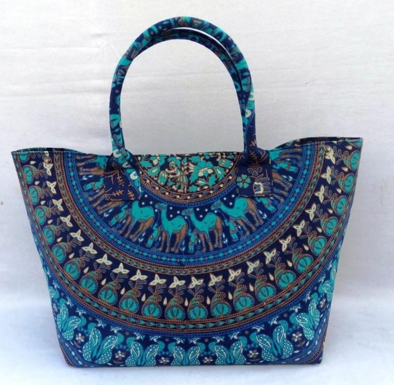 Vishal handicraft_Wholesaleインドヒッピートートbag_Mandalaボヘミアンデザイナーレディースハンドbag_Mandala手バッグ-トラベルバッグ問屋・仕入れ・卸・卸売り