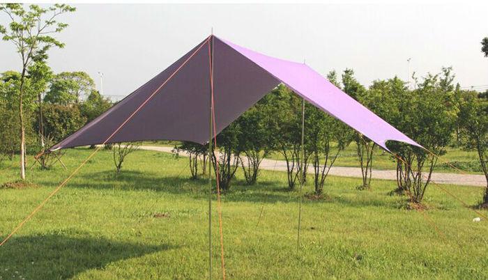フォールディングファブリック保護のキャンプテントの日陰の構造太陽日陰テント-テント問屋・仕入れ・卸・卸売り