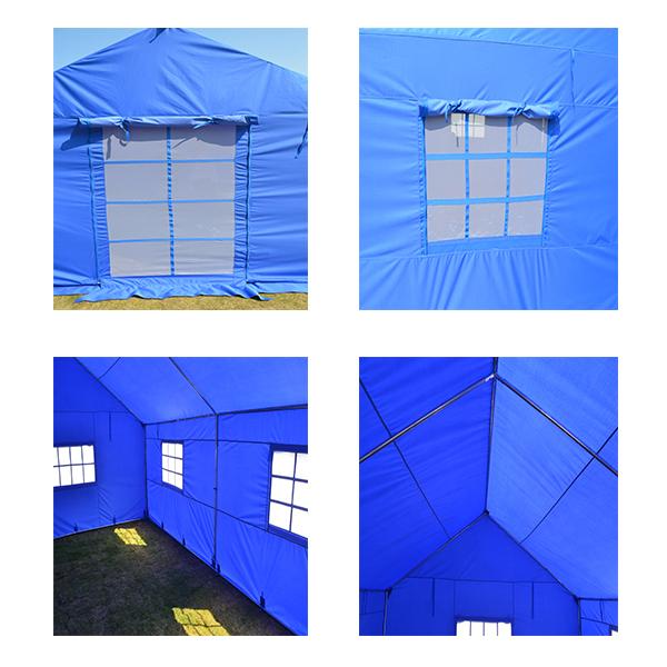 二重の層の災害救援のテントキャンプファミリー難民テント-テント問屋・仕入れ・卸・卸売り