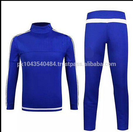 トラックスーツ2016サッカートレーニングスーツジャケットパンツリーグサッカージャージ-サッカーウェア問屋・仕入れ・卸・卸売り