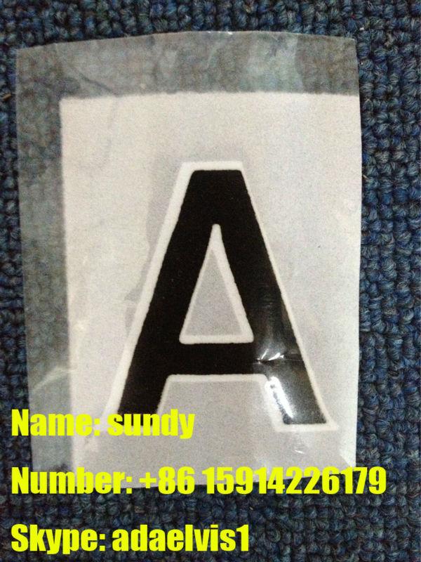 数字や文字のためのアーセナルジャージ-サッカーウェア問屋・仕入れ・卸・卸売り
