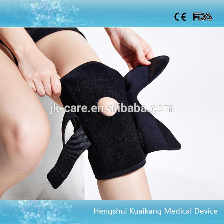 高品質調節可能な膝のサポートブレース弾性の膝の圧縮スポーツ用スリーブ-ひじ・ひざ用サポーター問屋・仕入れ・卸・卸売り
