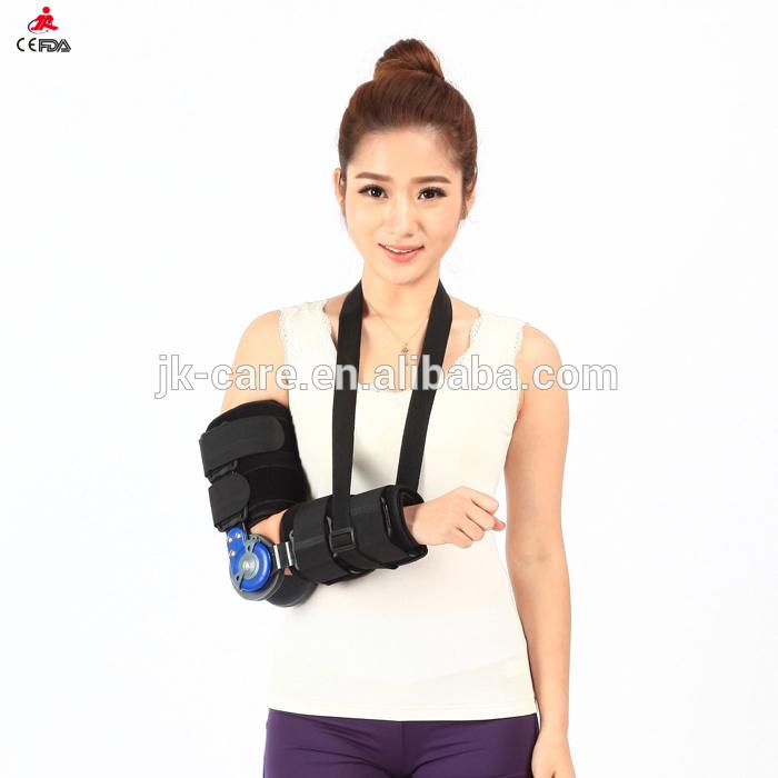 Romヒンジ調整可能な医療用肘のサポート/ブレース/ガード/プロテクター-ひじ・ひざ用サポーター問屋・仕入れ・卸・卸売り