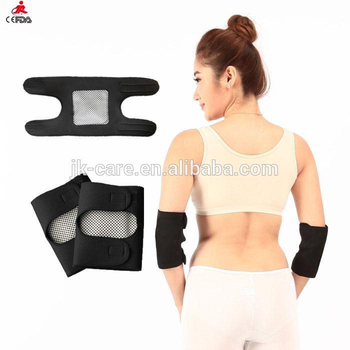 2015新製品スポーツ調整可能な ネオプレン肘サポートブレース磁気トルマリン加熱さ れ た アーム スリーブ ラップ用肘痛み relie-問屋・仕入れ・卸・卸売り