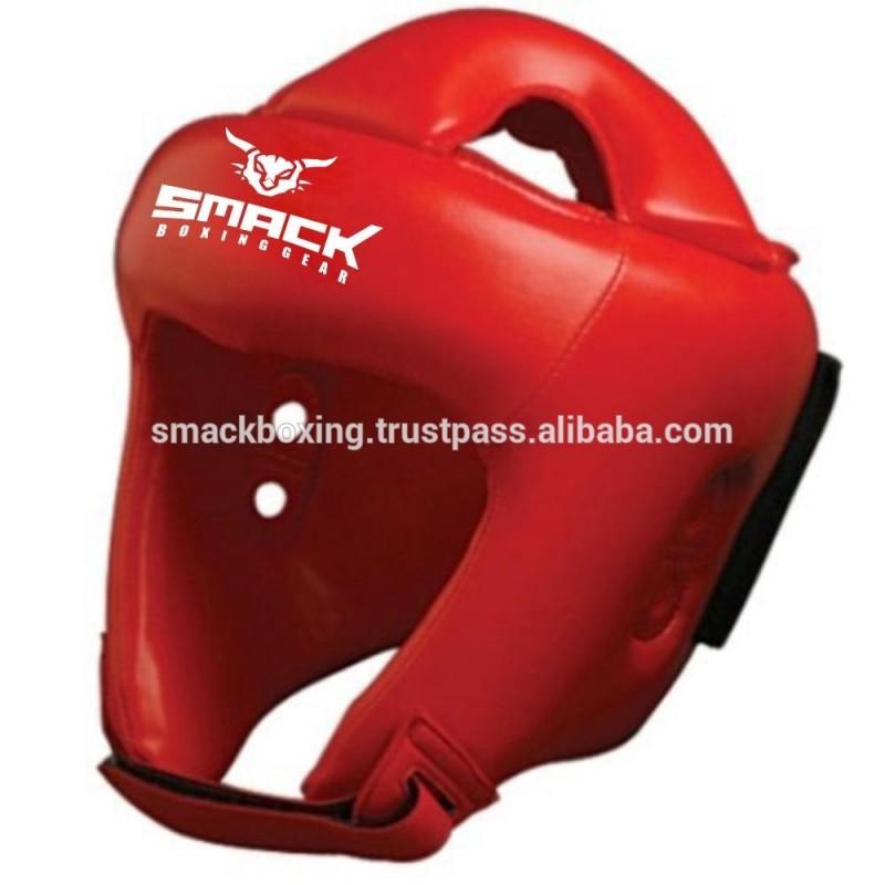 ヘッドガードプロテクターレザーや人工皮革カスタムヘッドプロテクター-ボクシング用グローブ問屋・仕入れ・卸・卸売り