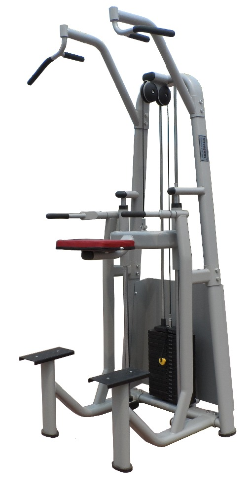 商業ジムの機器ハンマーアシストチンアップ/sm18ディップ-ジム用設備問屋・仕入れ・卸・卸売り