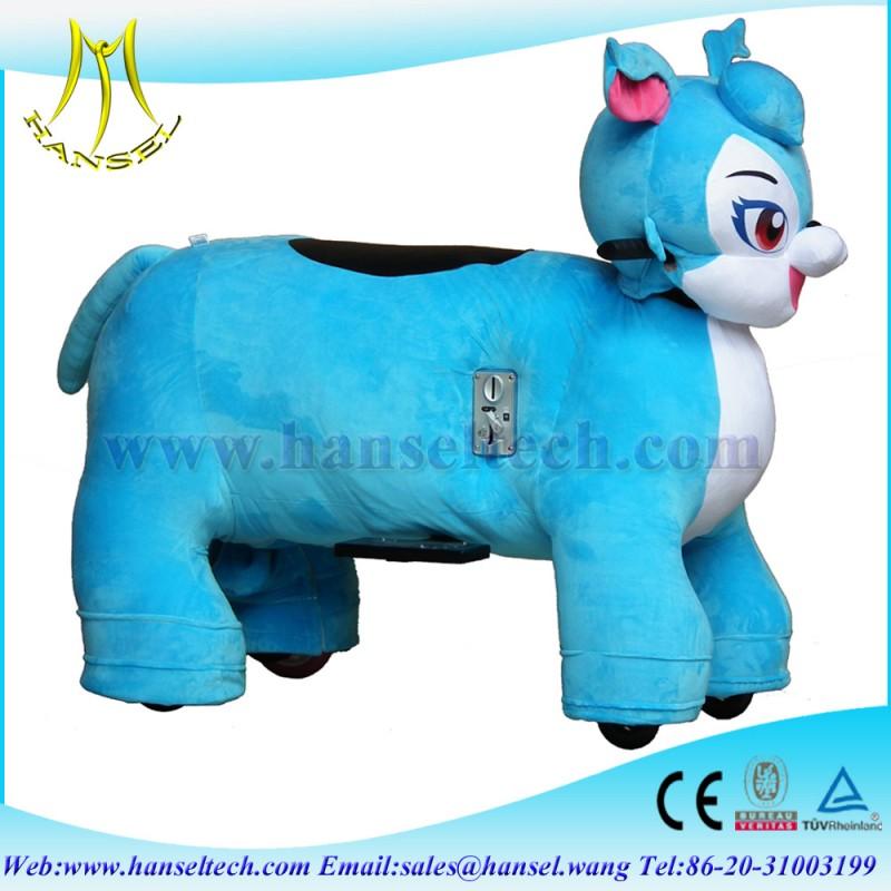 バッテリー駆動hansel人気の子供のための犬のおもちゃを歩く-詰められてフラシ天の動物問屋・仕入れ・卸・卸売り