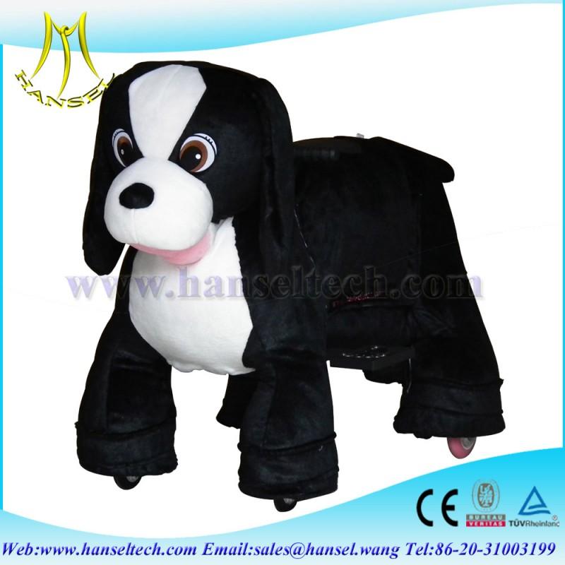 コイン式hansel電動動物動物のおもちゃを歩く-詰められてフラシ天の動物問屋・仕入れ・卸・卸売り