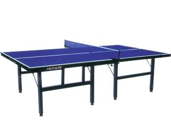 Oemブランド新しいデザインでの在庫過剰在庫シングル折り畳まと可動卓球テーブルHJ-L006-卓球台問屋・仕入れ・卸・卸売り