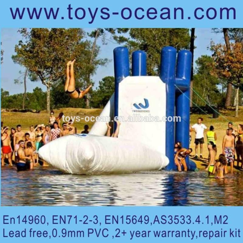 インフレータブルウォーターカタパルトのブロブ、 ブロブインフレータブルおもちゃ、 ジャンプインフレータブル水の塊-水上遊具問屋・仕入れ・卸・卸売り