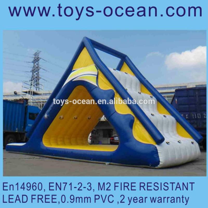 インフレータブル給水塔0.9mmポリ塩化ビニールの防水シートが付いているゲームの/インフレータブルゲーム-水上遊具問屋・仕入れ・卸・卸売り
