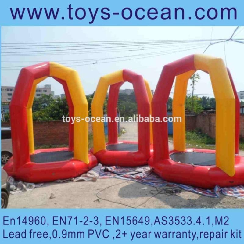 新しい設計クレイジー2015インフレータブルバンジートランポリンn大人のための子供-水上遊具問屋・仕入れ・卸・卸売り