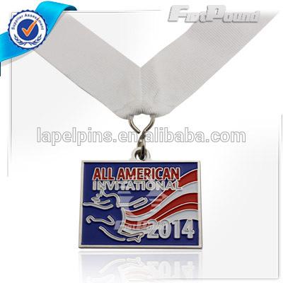 オールアメリカンインビテーショナルメダルでリボン-記念品問屋・仕入れ・卸・卸売り