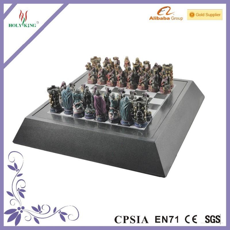 樹脂ケルビムの彫刻ゲームセット駒 パーソナライズ-チェス問屋・仕入れ・卸・卸売り