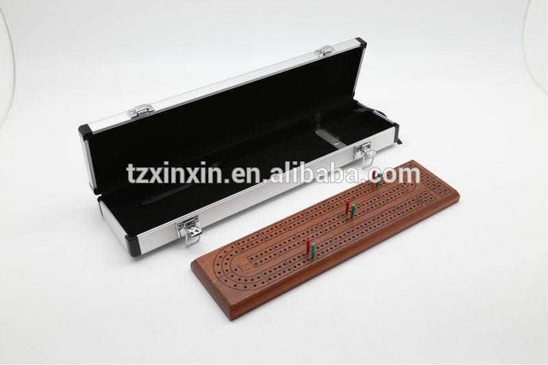 fsc木製クリベッジ工場出荷時の価格と高品質、 箱付きクリベッジボード-チェス問屋・仕入れ・卸・卸売り