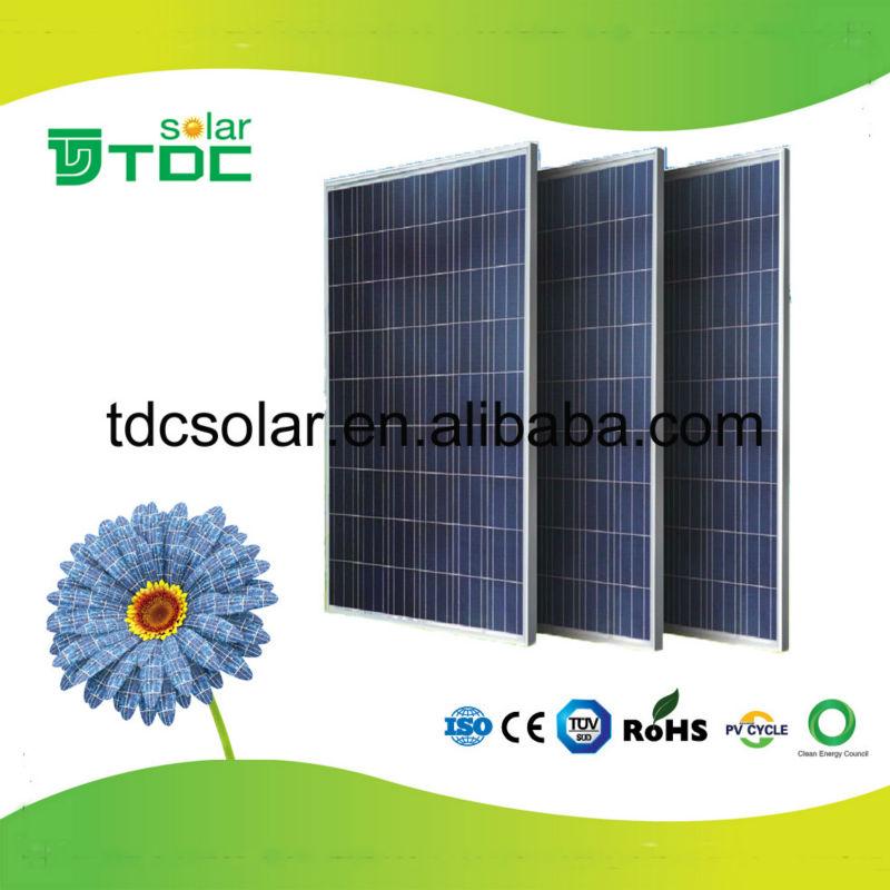 高品質と安い価格250ワット太陽光発電ソーラーパネルポリ-太陽電池、ソーラー・パネル問屋・仕入れ・卸・卸売り