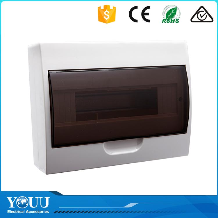 Youu新製品2016 mcb 10の方法電気プラスチック配電ボックスメイン照明配電盤-配電設備問屋・仕入れ・卸・卸売り