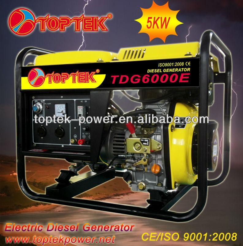 (2kw~5kw) 価格ディーゼル駆動の発電機の家庭用-ディーゼル発電機問屋・仕入れ・卸・卸売り