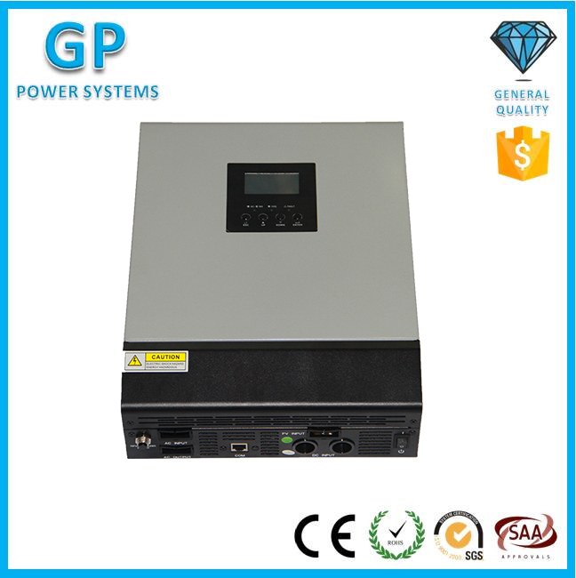 Gp 3000va/2400ワット48ボルト/20a mpptソーラーインバータ純粋な正弦波で充電コントローラ-インバータとコンバータ問屋・仕入れ・卸・卸売り