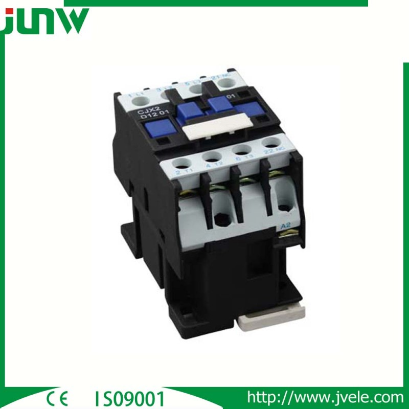浙江省の工場に良い価格を持っている220vコイル電圧3相lc1-d/cjx2種類の電気acコンタクタ-接触器問屋・仕入れ・卸・卸売り