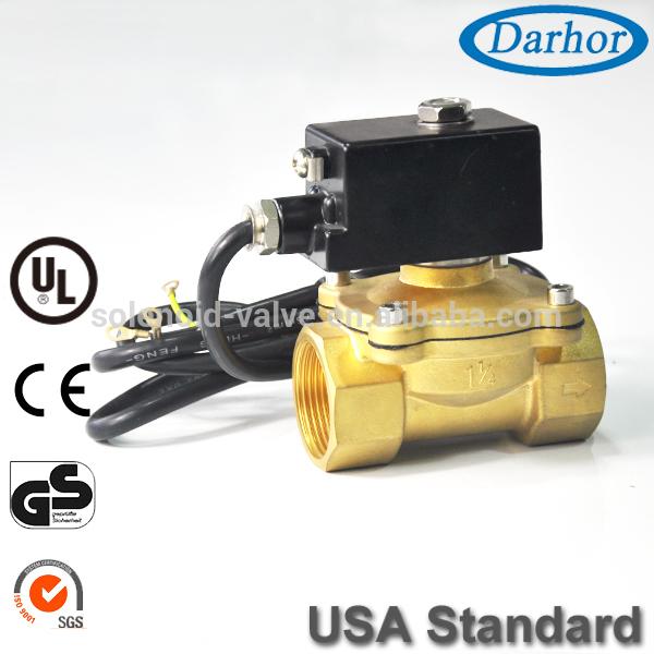 Dhepシリーズ220ボルト抗爆発性電磁弁真鍮-バルブ問屋・仕入れ・卸・卸売り