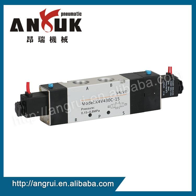 工場卸売電磁弁4v430c-/アルミソレノイドバルブ/空気圧電磁弁-バルブ問屋・仕入れ・卸・卸売り