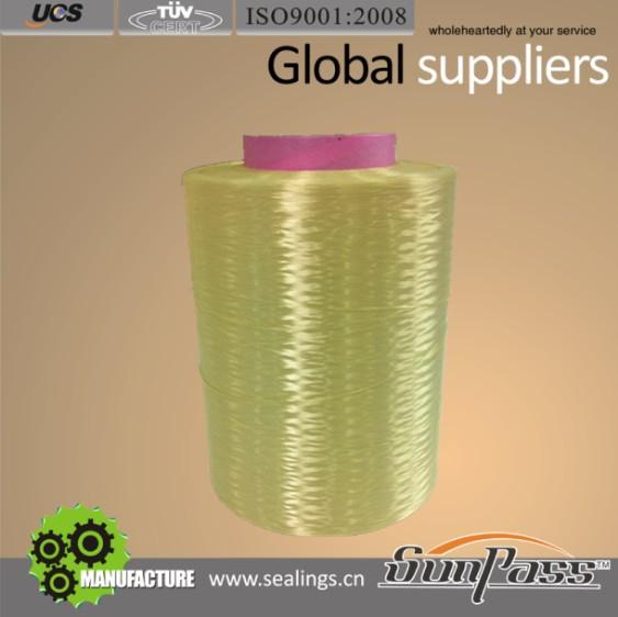 アラミドケブラー繊維糸ブレイドグランドパッキング用-シール問屋・仕入れ・卸・卸売り
