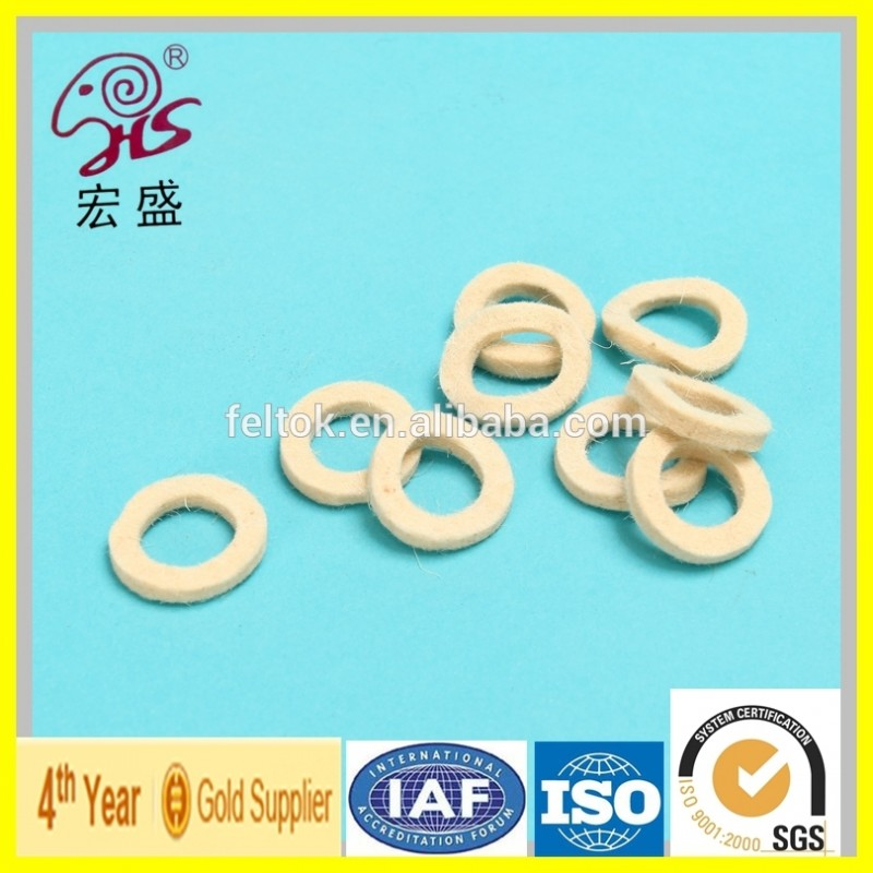 中国良い品質工場白い羊毛フェルトリングシール-ガスケット問屋・仕入れ・卸・卸売り