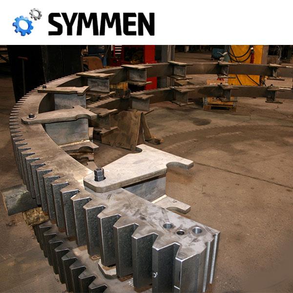 高品質customedの非標準大直径ヘリンボーン歯車用セメントミキサー-スパーギア問屋・仕入れ・卸・卸売り