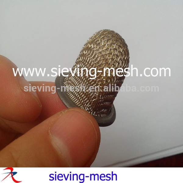 二重層の金属不織布メッシュフィルターエレメント燃料タンクのためのリングが付いている、 ステンレス製円筒形のメッシュ不織布ストレーナー-フィルターメッシュ問屋・仕入れ・卸・卸売り