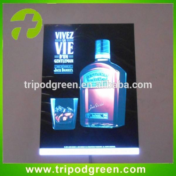 新しい広告製品、 魅力的なエレクトロルミネセンス( el) 灯の広告/ポスター-EL製品問屋・仕入れ・卸・卸売り