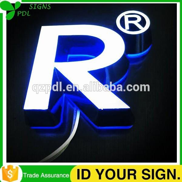高輝度防水前面と背面点灯チャンネル文字-デジタルディスプレイ、ネオンサイン、電光掲示板問屋・仕入れ・卸・卸売り