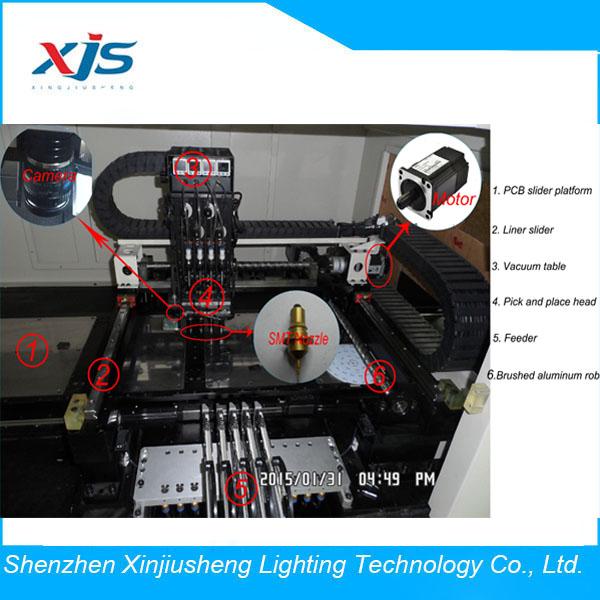 新製品! smdピックアンドプレイスを持つマシン0.01ミリメートル精度ピックアンドプレース-電子電工製品製造設備問屋・仕入れ・卸・卸売り