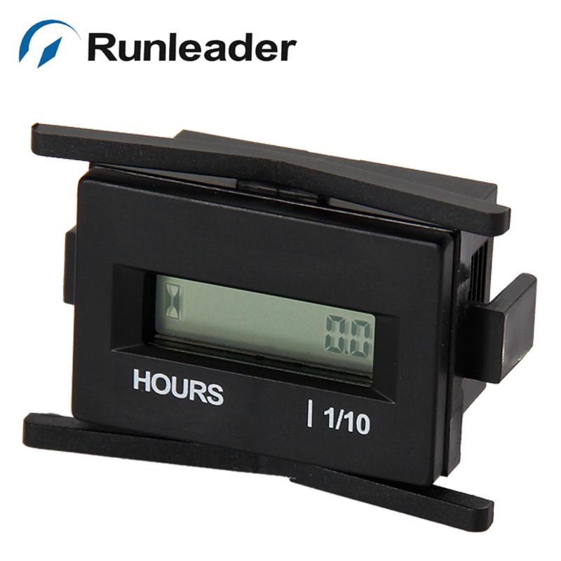 防水デジタル時間計タイマーdc互換性のある999999カウンタタイマジェネレータのためのスノーモービル4.5-60v舶用エンジン機器-タイマー問屋・仕入れ・卸・卸売り