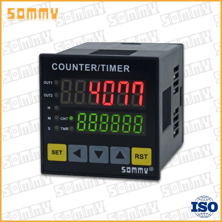 小さなデジタル6桁のタイミング機能付き電動カウンタメートル-カウンター問屋・仕入れ・卸・卸売り