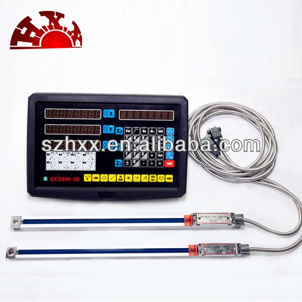 マシンのDRO1軸2軸3軸デジタル読み出しDROリニアスケール-測定、分析機器加工サービス問屋・仕入れ・卸・卸売り