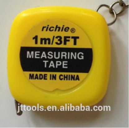 プロモーション鋼巻尺、 ミニキーホルダー測定テープ、 1.5メートルギフト測定テープ-巻尺問屋・仕入れ・卸・卸売り
