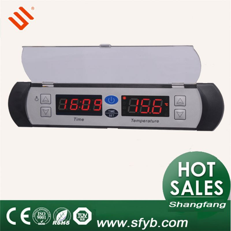 商業用冷蔵庫のための電子サーモスタット付き冷凍庫sf-581クロック-温度計問屋・仕入れ・卸・卸売り