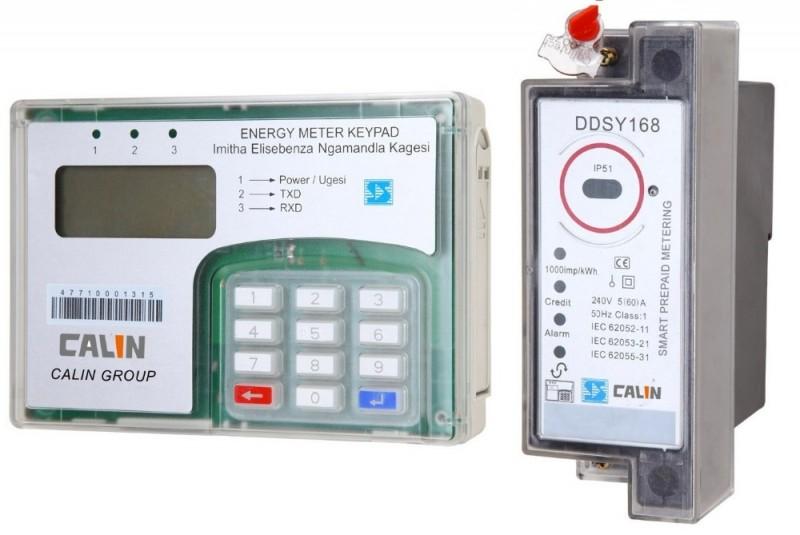 Dinレールstsキーパッドプリペイド電力計とciu (plc通信)-エネルギーメーター問屋・仕入れ・卸・卸売り
