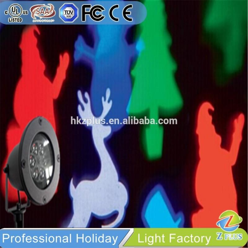 屋外led回転サンタ柄ノベルティクリスマスライト-パーティー、祭り用照明問屋・仕入れ・卸・卸売り