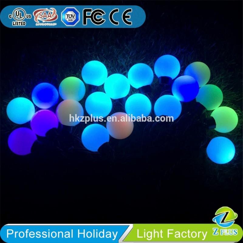 Rgbボール屋外/屋内装飾クリスマスストリングライト-パーティー、祭り用照明問屋・仕入れ・卸・卸売り