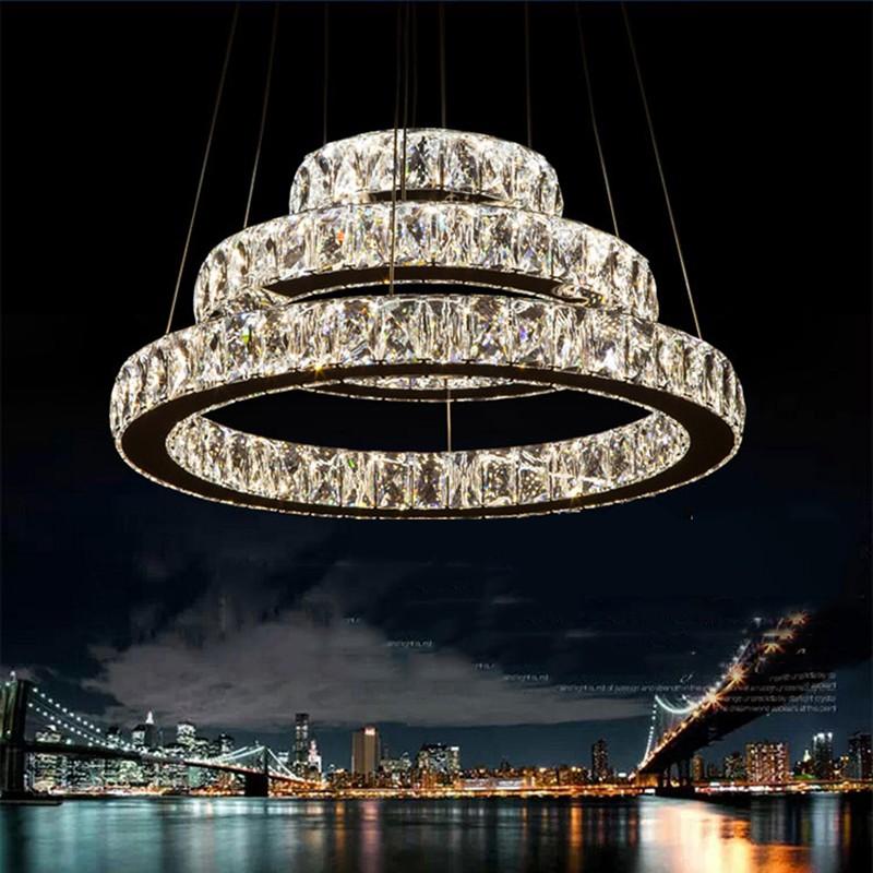 ホーム装飾照明led クリスタル ペンダント ランプ調光対応シャンデリア器具で ac100 へ 240 ce fcc ul led王国照明-問屋・仕入れ・卸・卸売り