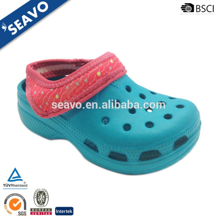 Seavo 2016最新デザインevaサンダルスリッパ靴新しいユニセックスキッズガーデン下駄中国工場-クロックス問屋・仕入れ・卸・卸売り