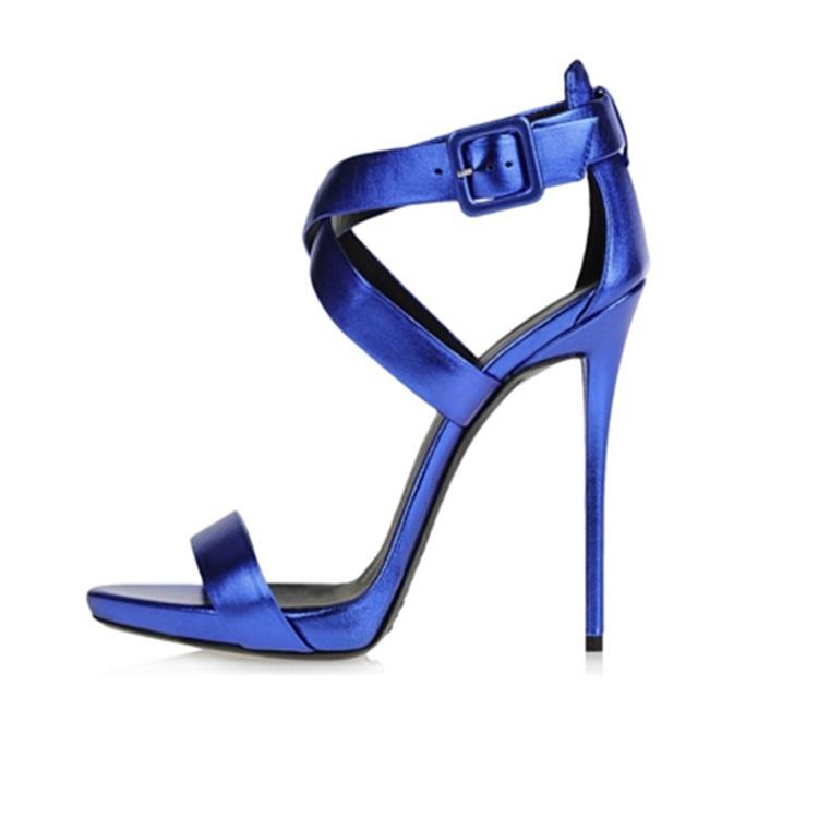 ハイヒールサイズ44ニース12センチ女性サンダル安い卸売靴で中国-サンダル問屋・仕入れ・卸・卸売り