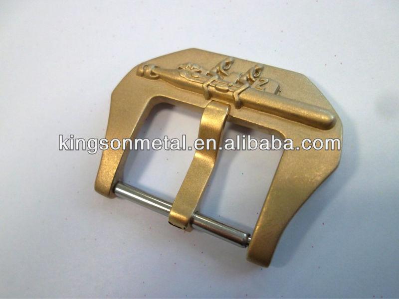 の豪華な手作りブロンズ時計24ミリメートルバックル-ベルトバックル問屋・仕入れ・卸・卸売り