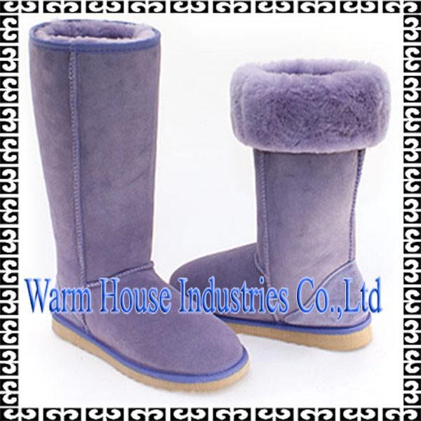 2016高いちばん暖かい雪オーバー膝ハイヒールのブーツ-革靴問屋・仕入れ・卸・卸売り