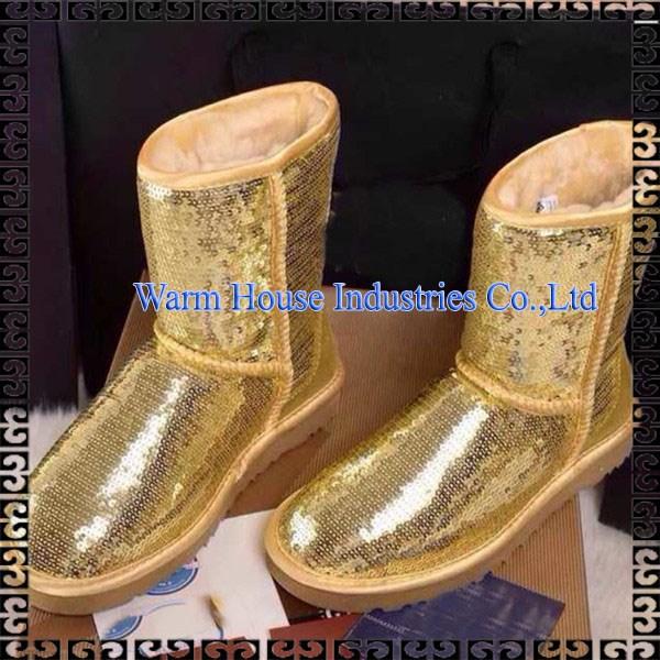 ファッションブーツ用女性古典的な雪の冬のブーツ-革靴問屋・仕入れ・卸・卸売り